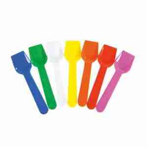 Palette gelato colori assortiti